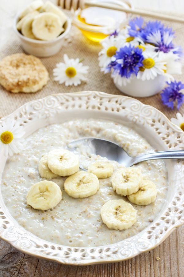 Banánová polievka nasladko  
