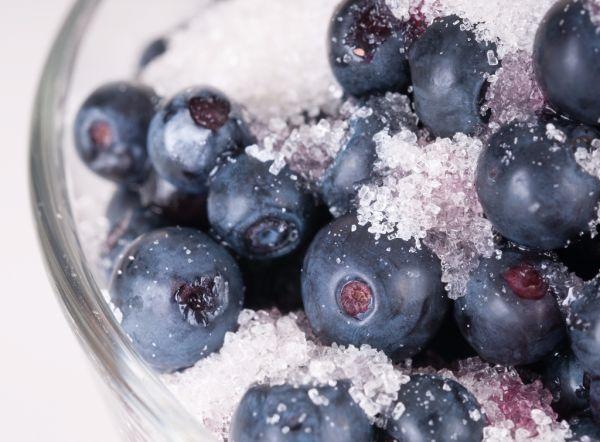 Čučoriedky v cukre |