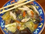 Čínska ostrokyslá polievka  moja imitácia
