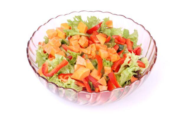 Zeleninovo-ovocný šalát |
