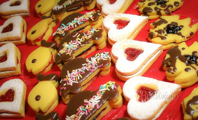 Vianočné zlepované koláčiky