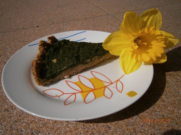 Veľkonočný špenátový koláč |