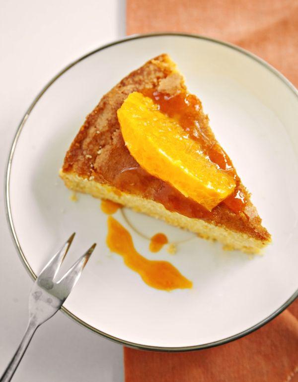 Svieži pomarančový koláč |