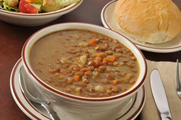 Sladká šošovicová polievka |