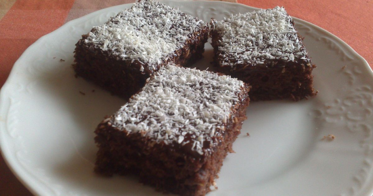 Cuketový koláč s kokosom, fotogaléria 1 / 13.