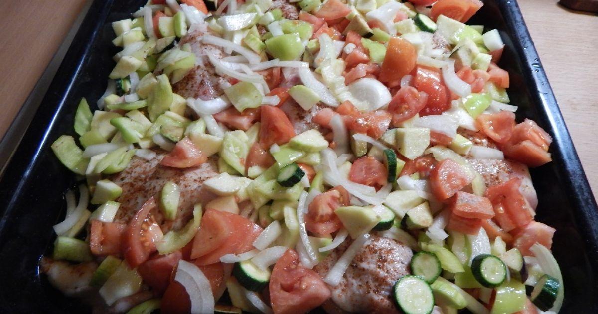 Kuracie stehná pečené so zeleninou, fotogaléria 3 / 5.