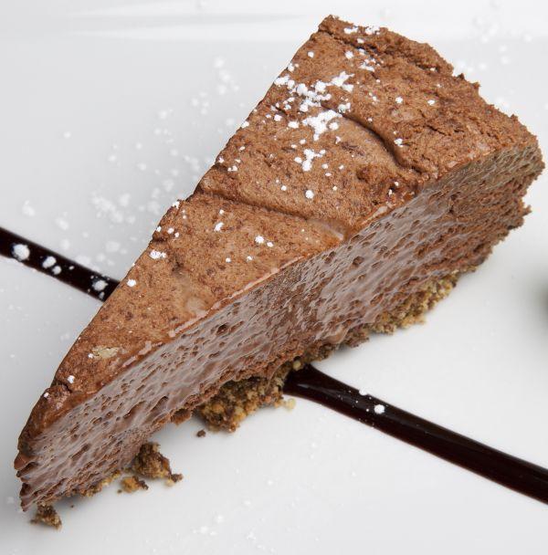 Čokoládový koláč s krémom z Mascarpone  