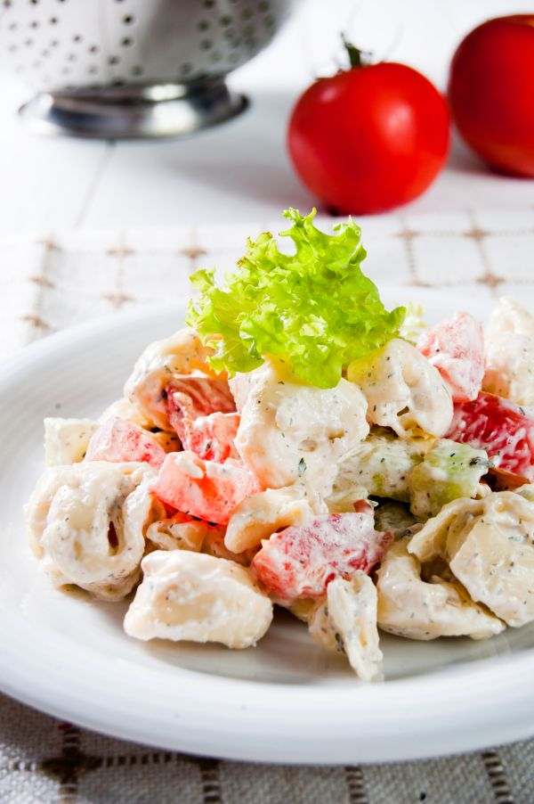 Taliansky zeleninovo-cestovinový šalát |