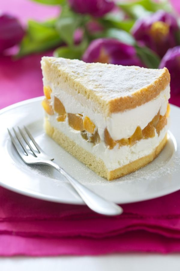Tvarohová torta s marhuľami |