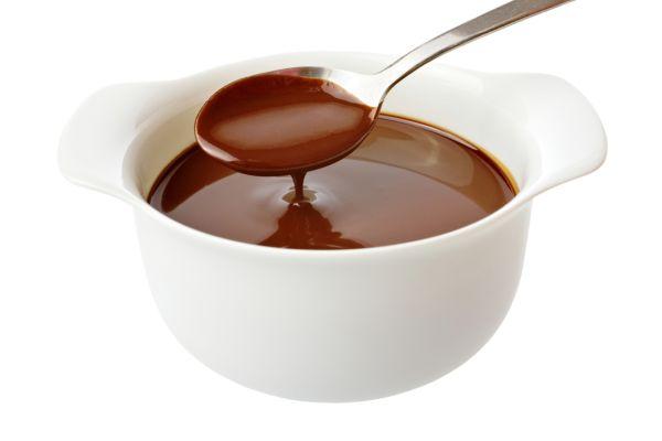 Ľahká čokoládová omáčka |