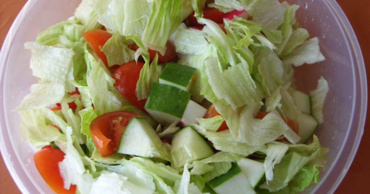 Krabí zeleninový šalát, fotogaléria 7 / 10.