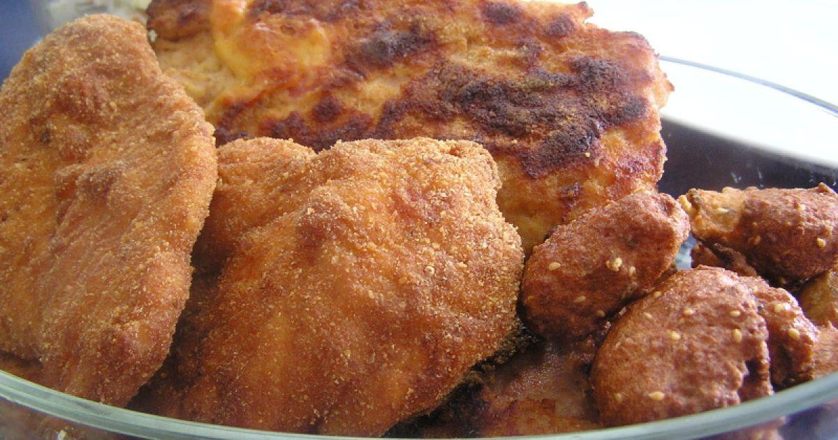 Plnený bravčový rezeň a zemiakový šalát, fotogaléria 7 / 7.
