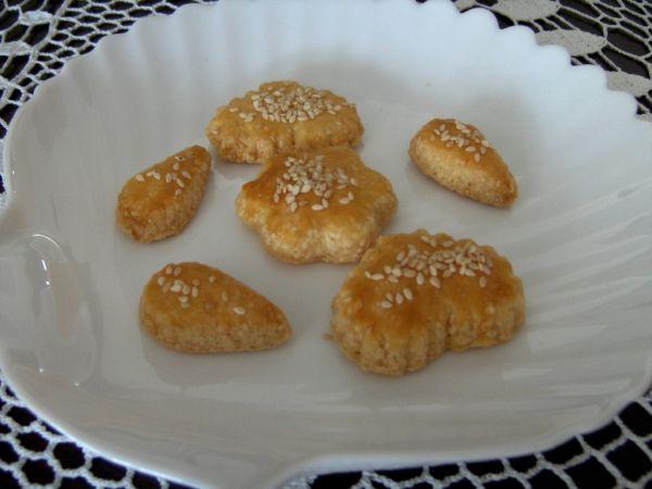 Slané syrové pečivo  