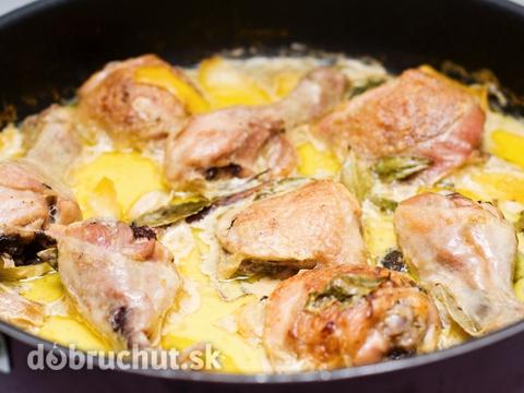 Kuracie stehn na smotane recept for Maneras de cocinar pollo