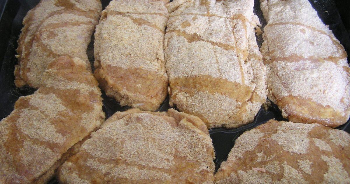 Plnený bravčový rezeň a zemiakový šalát, fotogaléria 4 / 7.