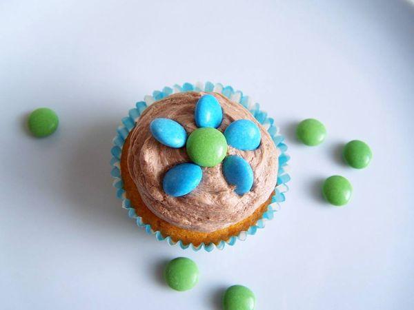 Lentilkové cupcakes |