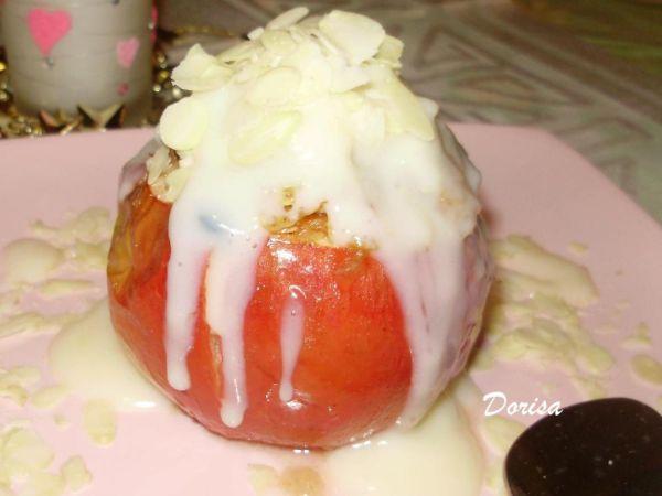 Pečené jablká s marcipánom |