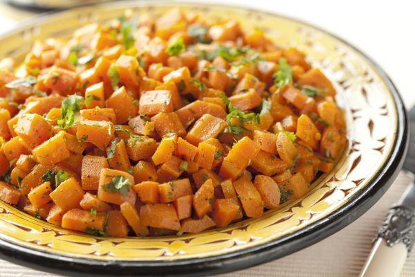 Jednoduchý mrkvový šalát |
