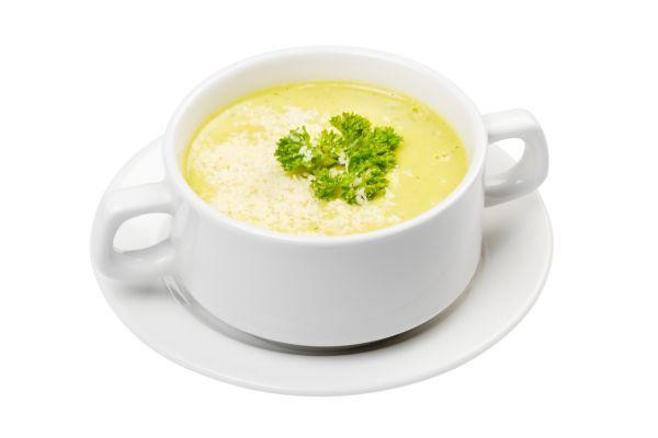 Zapražená krupicová polievka |