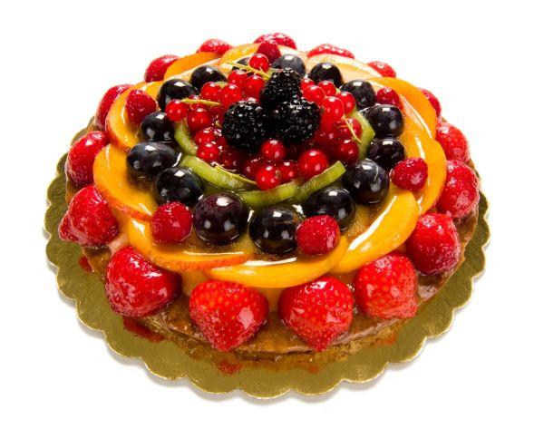 Jemná ovocná torta |
