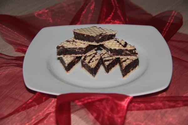 Plnené kakaové oblátky |