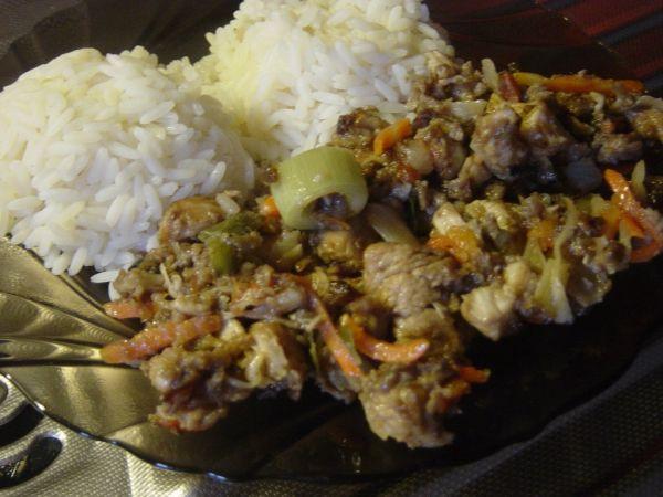 Moja Čína z kuracieho mäsa |