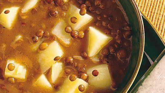Šošovicová polievka |