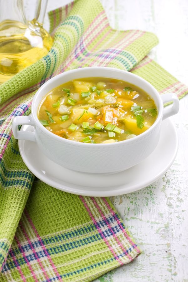 Zázvorová polievka |
