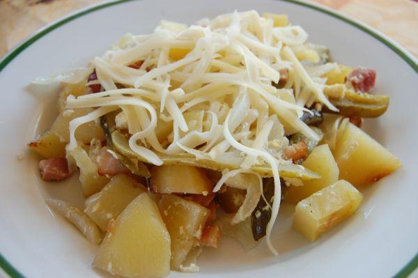 Francúzske zemiaky zo špajzy |