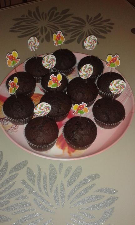 Čokoládovo škoricové muffiny |