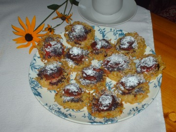 Sladké bramboráčky se švestkami  Recepty na každý den