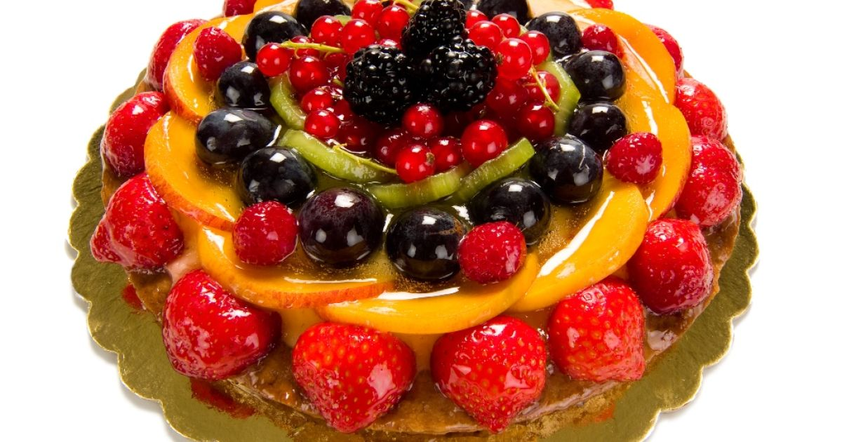 Jemná ovocná torta, fotogaléria 1 / 1.