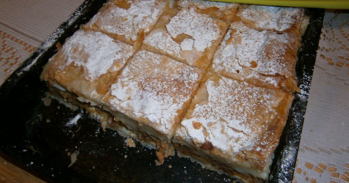Jablkový koláč s pudingom, fotogaléria 8 / 9.