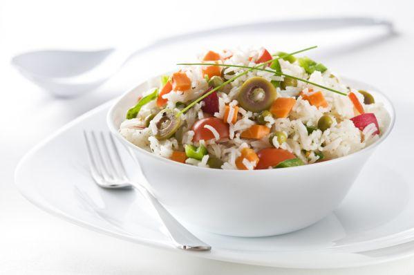 Ryžovo-zeleninový šalát |