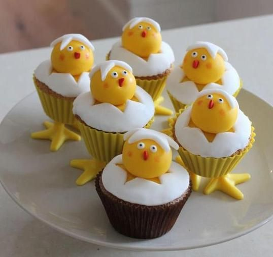 Muffiny a la Veľkonočné kuriatka |
