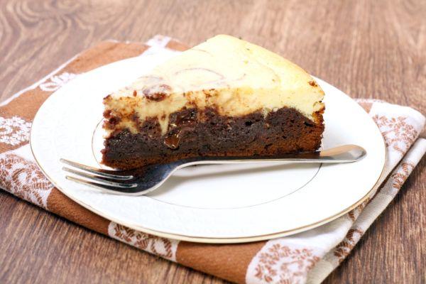 Brownie cheesecake |