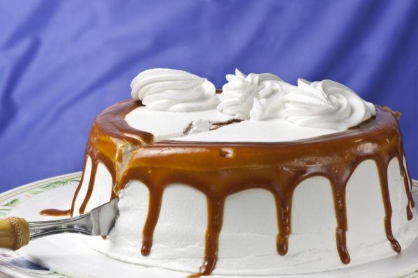 Karamelová torta |