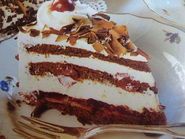 Schwarzwaldska višňová torta |