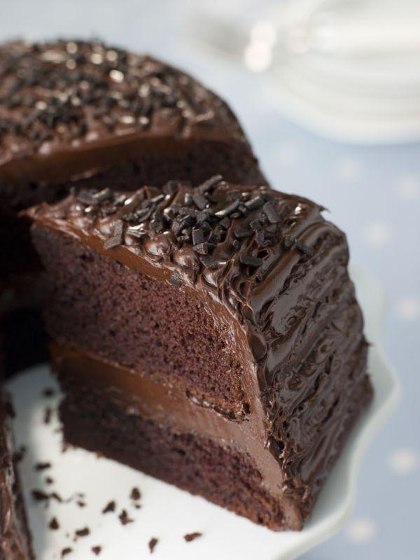 Jednoduchý čokoládový koláč |