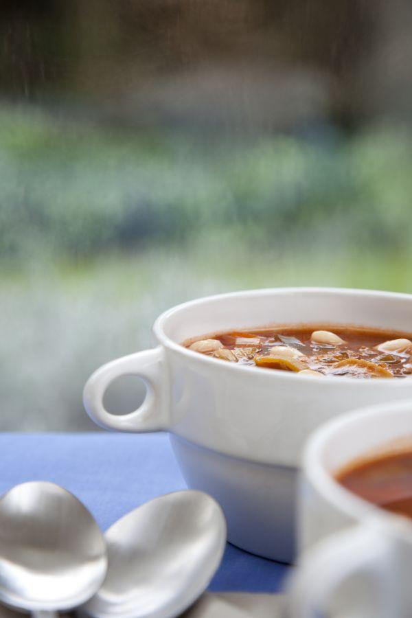 Fazuľovo – zeleninová polievka |