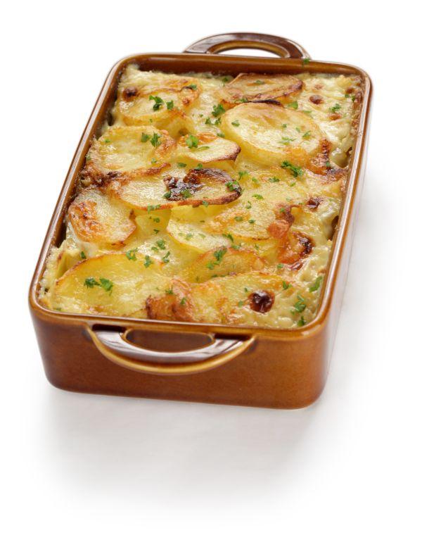 Francúzske zemiaky s klobásou |
