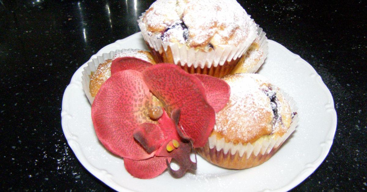 Bezlepkové banánové muffiny s ovocím, fotogaléria 1 / 1.