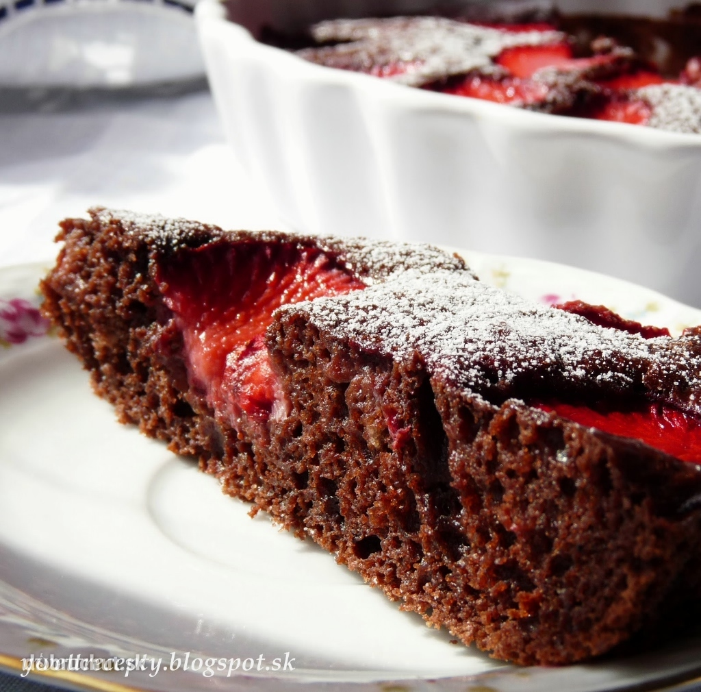 Jednoduchý jahodový koláč, fotogaléria 5 / 5.