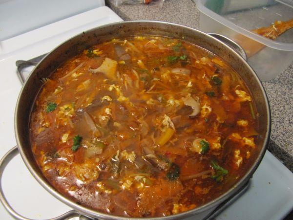 Čínska ostro-kyslá polievka |