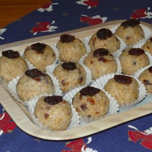 Citrónové hrudky (bezlepkové, bez mlieka, sóje a vajec)