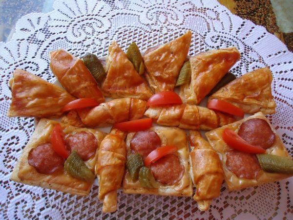 Fororecept: Pizza rožky |
