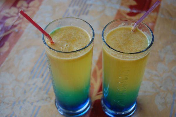 Pomarančový drink s bielym rumom |
