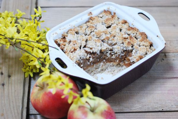 Jablkovo-ovsený koláč s perníkovou arómou ...