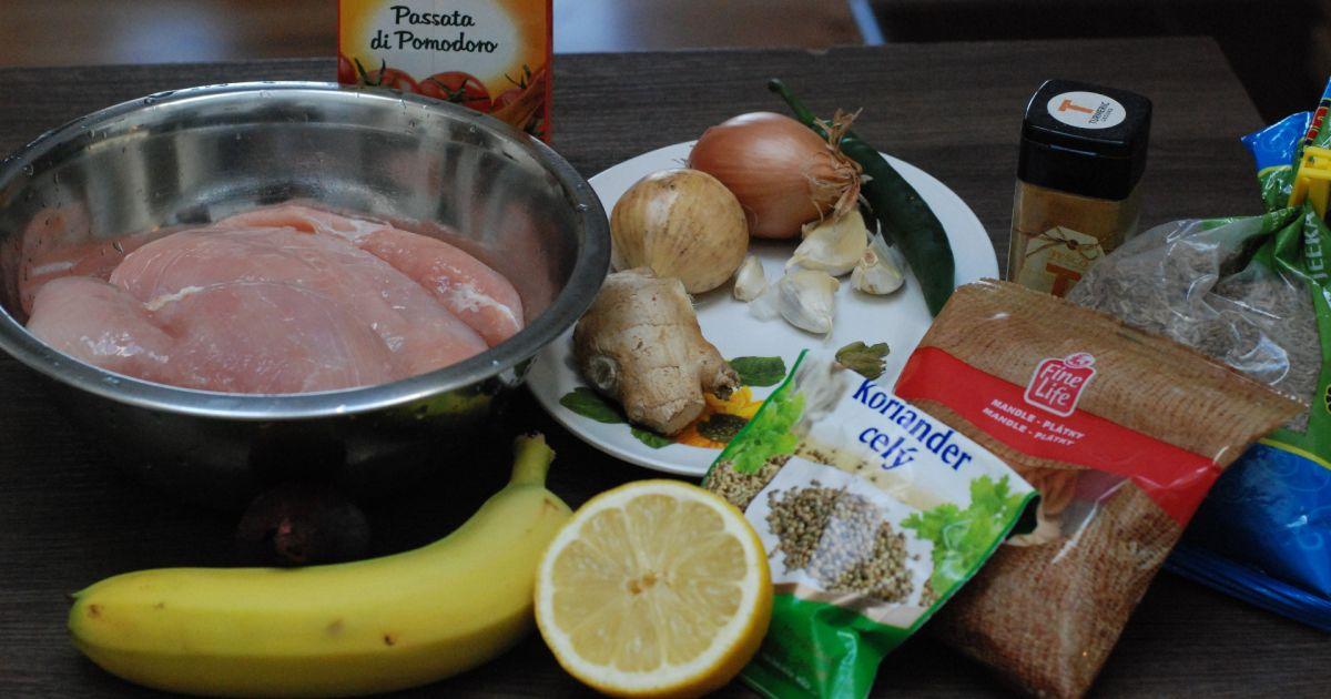 Ostré voňavé kura a banánový sambal, fotogaléria 2 / 15.
