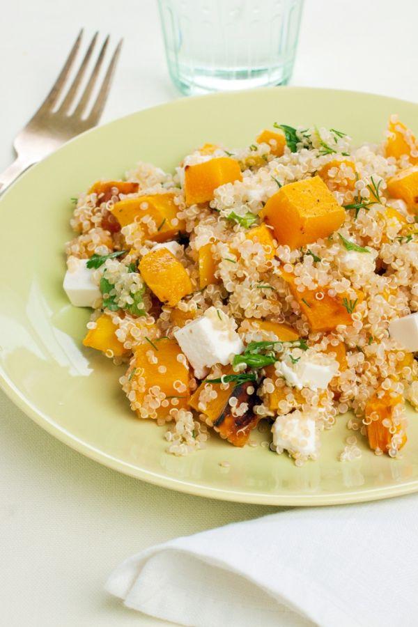 Quinoa s tekvicou a syrom |